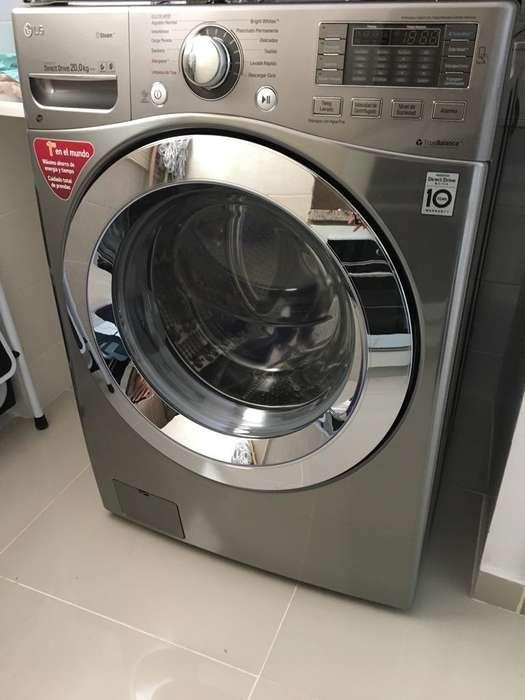 Lavadora Secadora Lg 20Kg con Regulardor