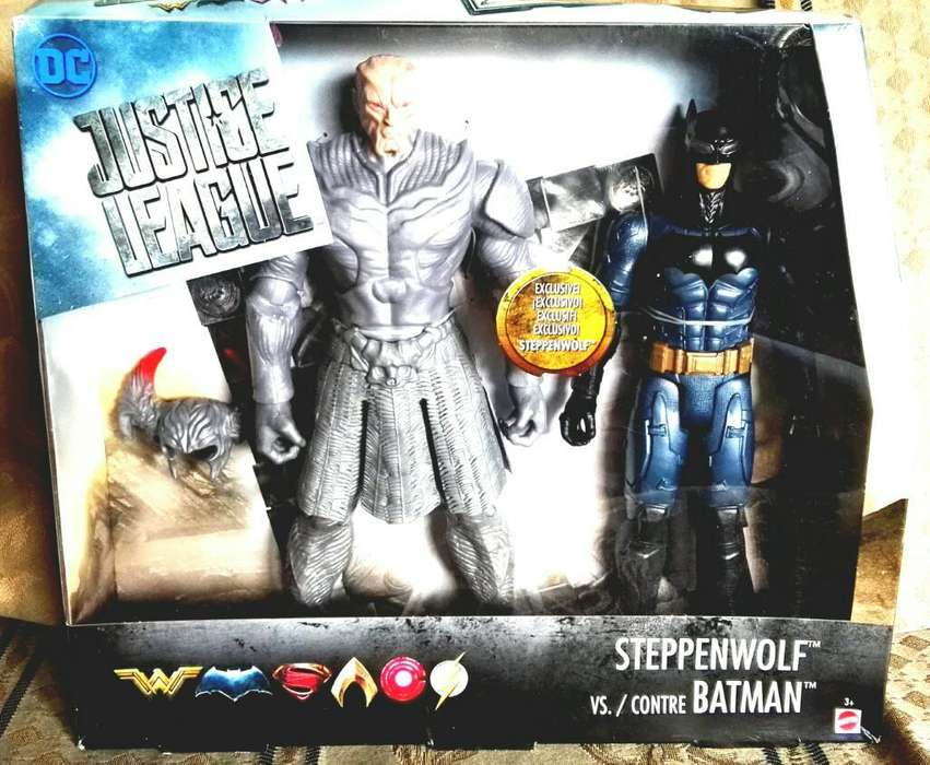 Juguete Batman Vrs Steppenwolf