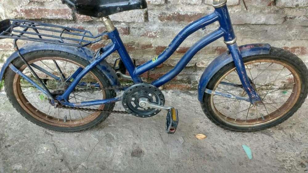 Bicicleta Rodado 14 Usada