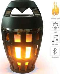Parlante Lampara Bluetooth Tipo Flama