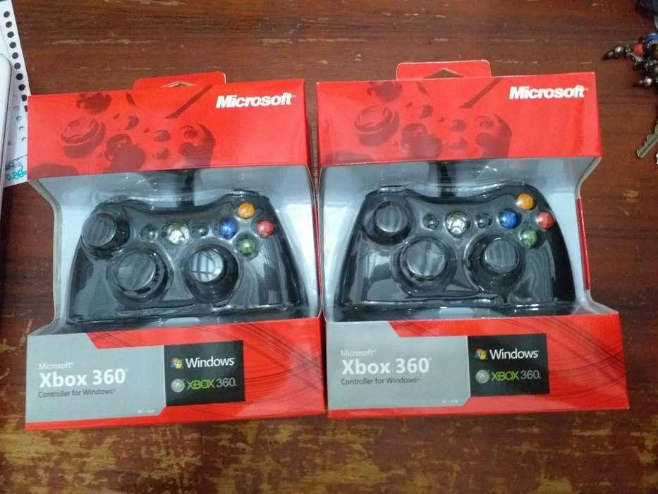 Control Xbox 360 Alambrico Nuevos