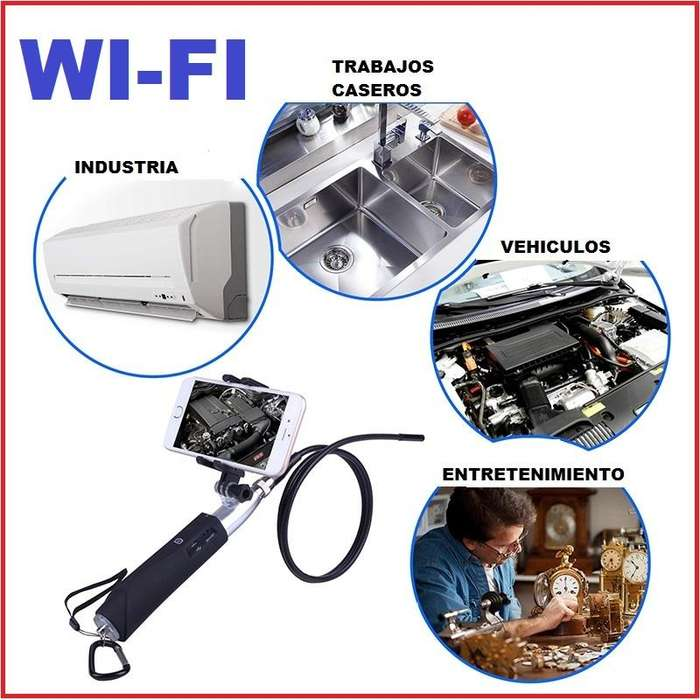 Camara Endoscopio Wifi Hd Iphoneandroid