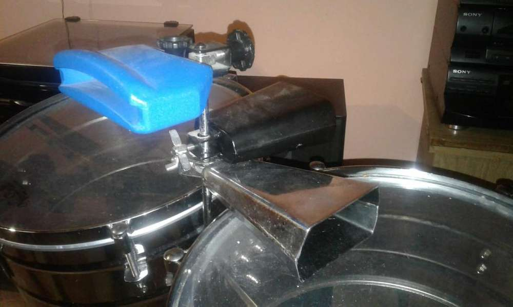 VENDO TIMBALES MARCA NEW BEAT EN BUEN ESTADO