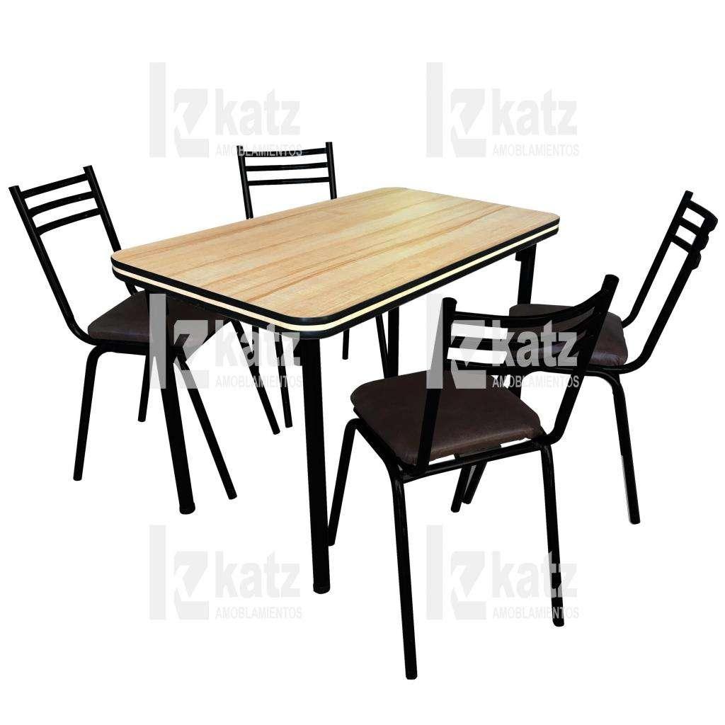 Combo Mesa y 4 sillas / Living comedor / Mesa en 1,20 / Sillas ...
