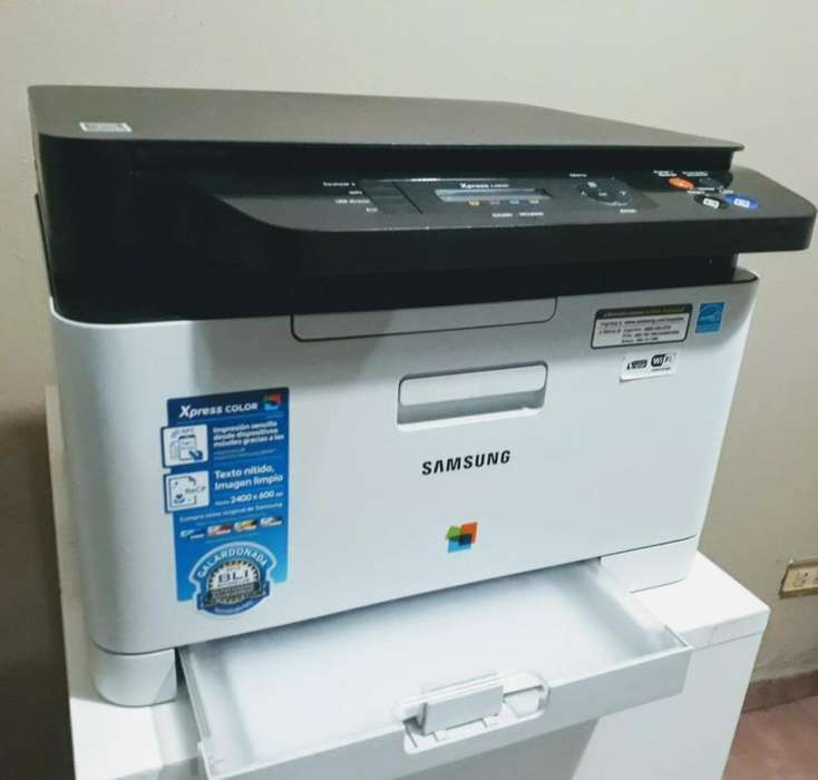 Impresora Láser Color Multif. Samsung Sl C480w Wifi OFERTA (Usada) Liquido!