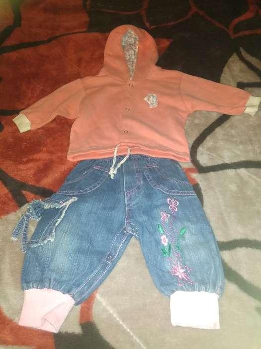 Camperita Y Pantalon