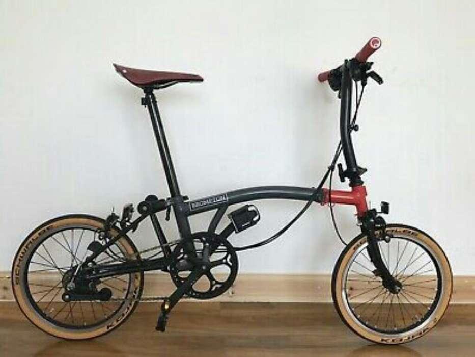 Bici Plegable Brompton R20 Nueva en Caja