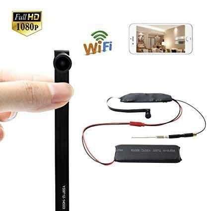 Mini Cámara Espía 4k Wifi Inalámbrica Original Con Visión Nocturna
