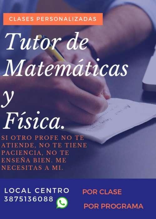 Matemáticas Física