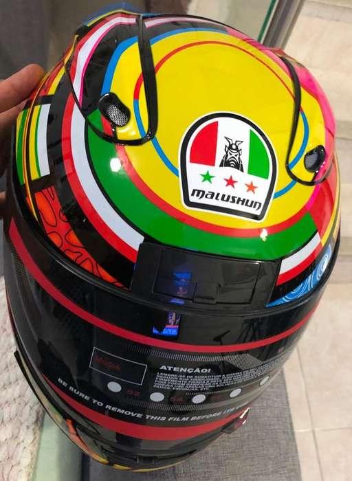 Casco Valentino Rossi talla M