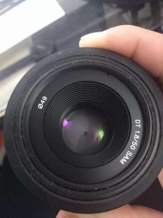 lente sony 50 fijo 1.8 mount A
