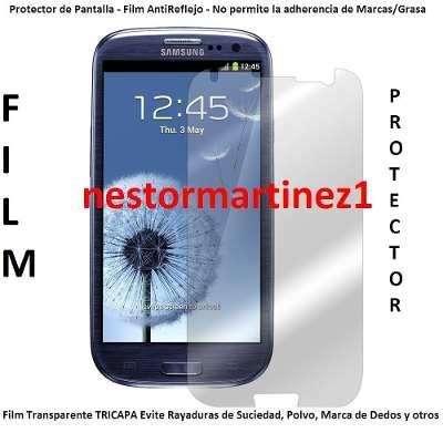 Samsung Galaxy S3 I9300 Film Protector D Pantalla Lcd Envios