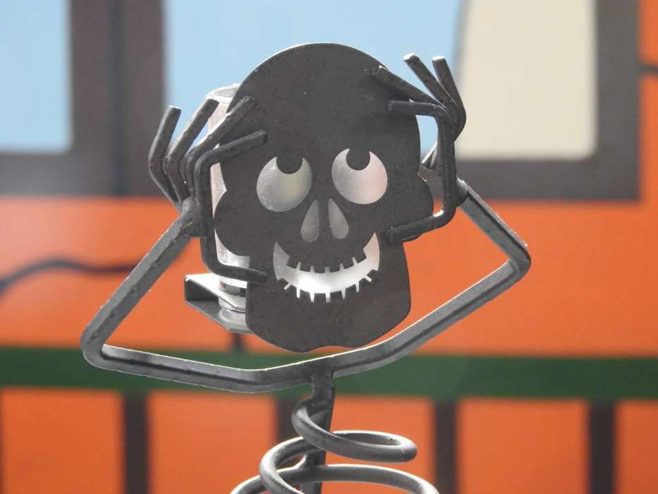 Partylite Mr. Bones Skeleton
