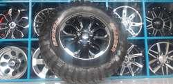 4 Aros Originales Jeep Made in USA R18 Magnesio 5H 127mm