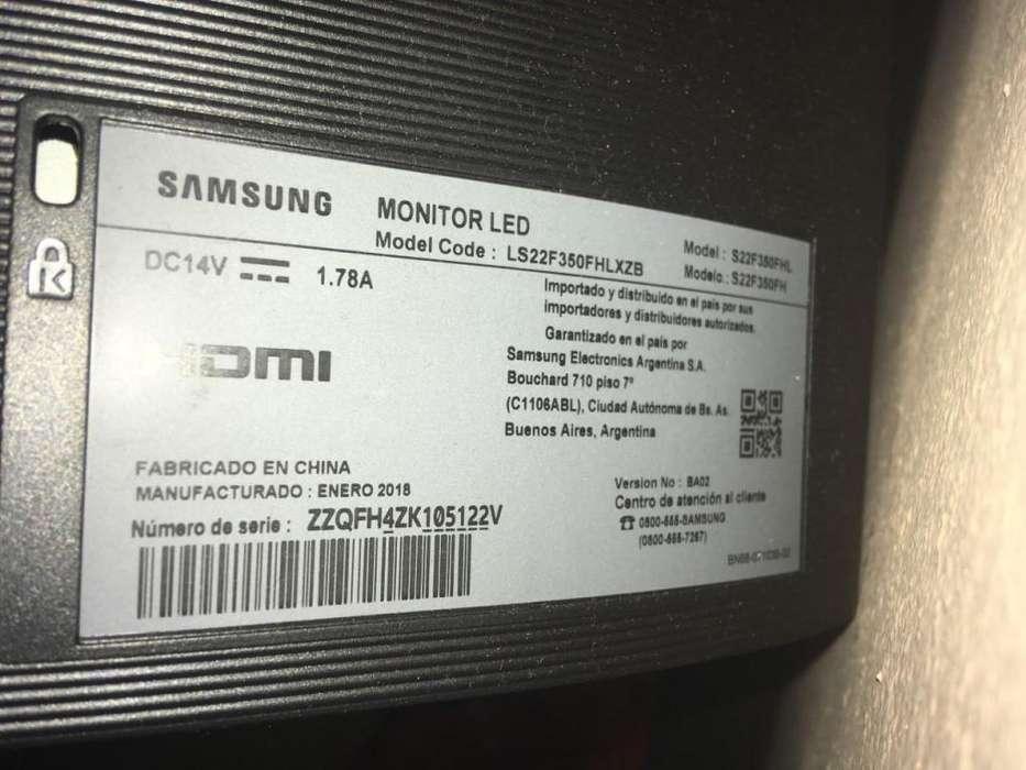 Monitor Led 22, Samsung HDMI