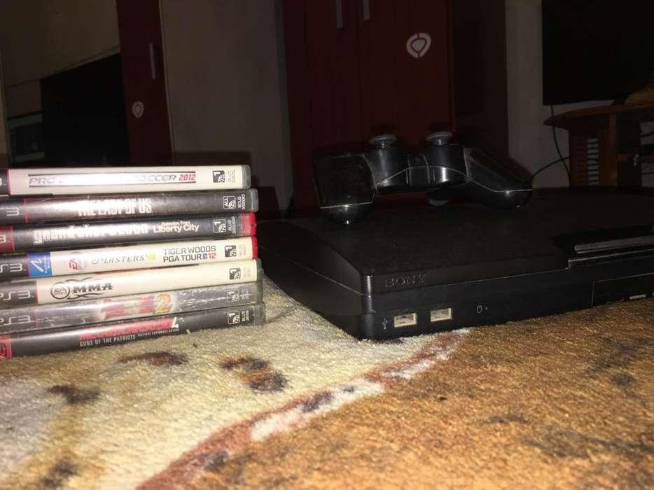 Playstation 3 con 6 Juegos Joystick