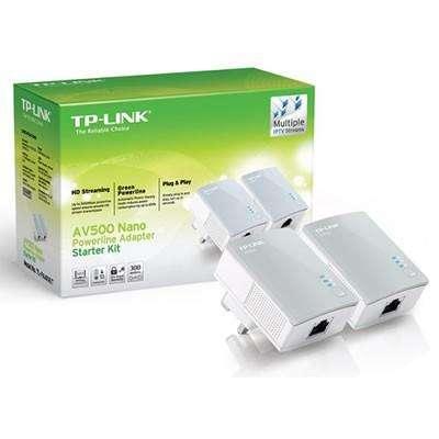 KIT EXTENSOR NANO POWERLINE AV500 TPLINK ETHERNET TLPA4010