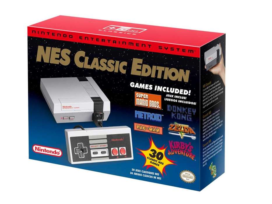 Nintendo Nes Mini Sellado Caja Impecable