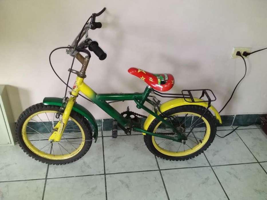 Bicicleta Aro16 para Niños (semi Usado)
