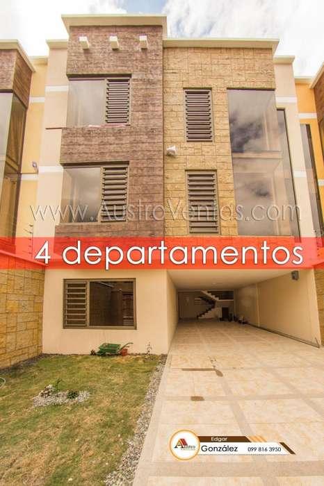 Vendo casa 4 departamentos Cuenca Ecuador