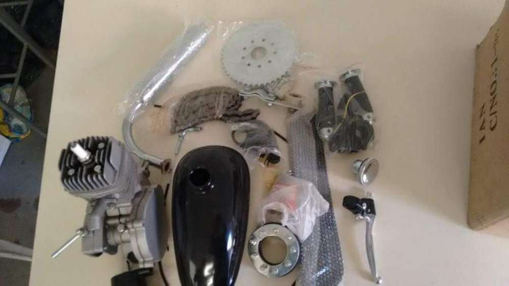 Kit de Motor de Bici 48cc, Nuevo sin Uso