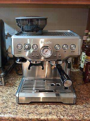 MAQ CAFE BREVILLE 870 CON MOLINO NUEVA , ENTREGA INMEDIATA