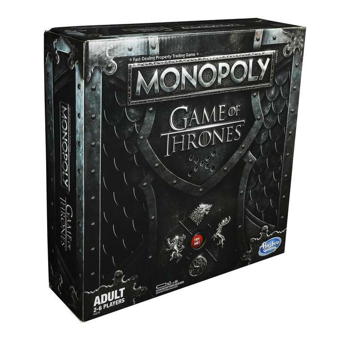 Monopoly Game Of Thrones Hbo