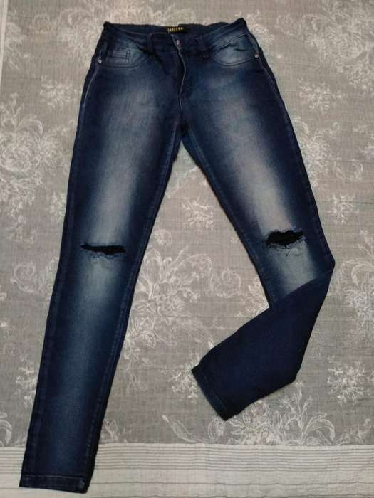 Pantalon Jeam Mujer Tabathas Talle 38