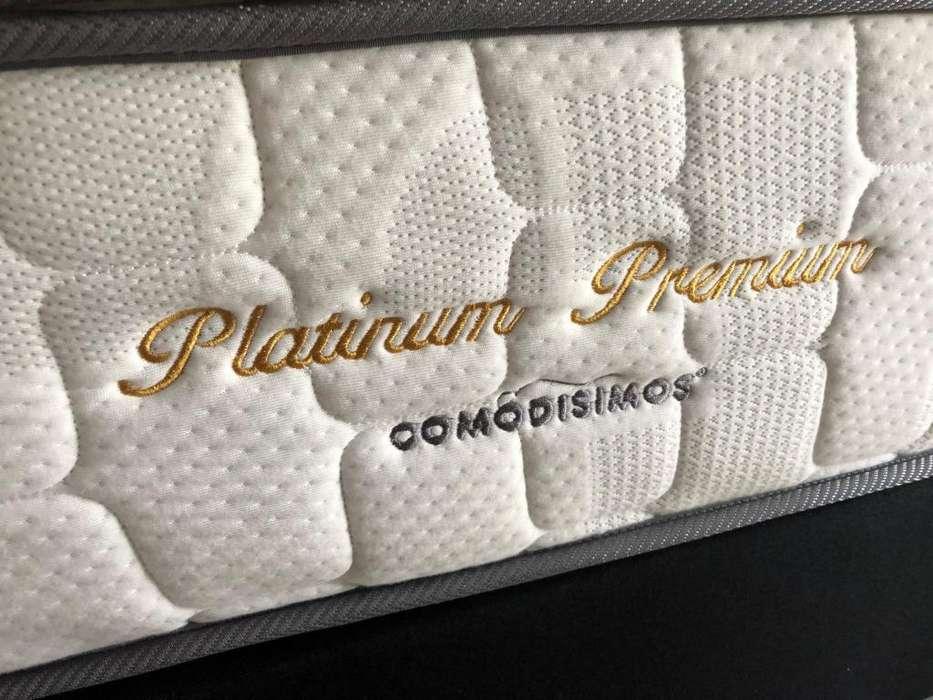 colchon comodisimos platinum premium ganga 600.000 usado