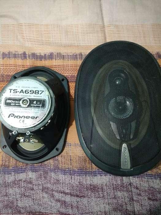 Parlantes Pioneer 6x9 260w