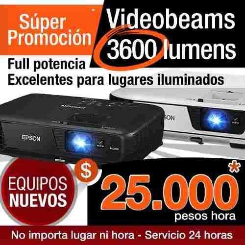 Alquiler de Video beam 3600 lumens, 25.000 Pesos, videobeam, Proyector, Telón, sonido, 758 0470 WhatsApp 3224363013