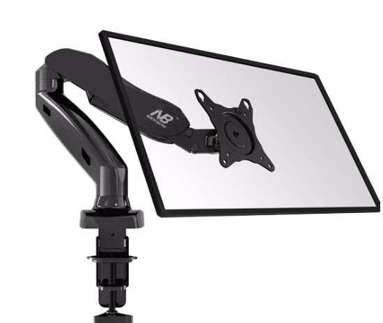 Soporte ergonómico F80 para TV o <strong>monitor</strong>es de 17 a 27