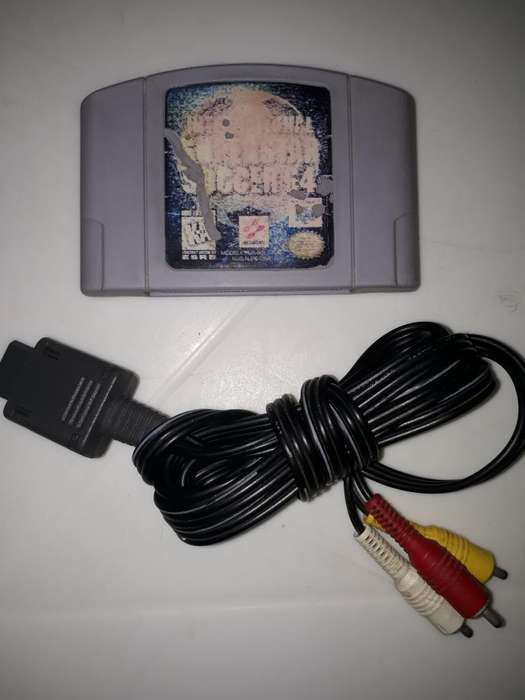 Juego Nintendo 64 Super Star Soccer