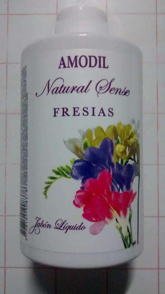 Jabón liquido Natural Sense Fresias