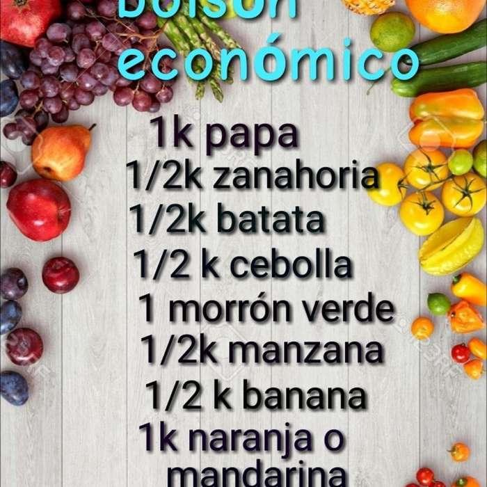 Bolsones de Frutas Y Verduras