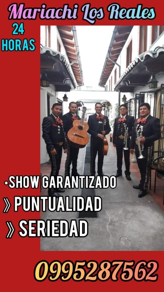 Show Mariachis Quito La Legarda