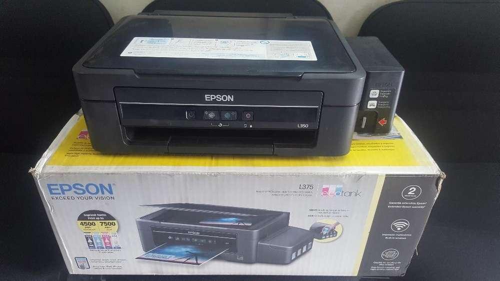 Impresora Epson L350 con Sistema Origina