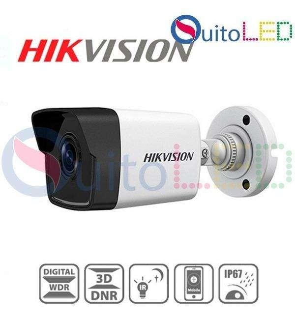 Camara Ip Hikvision Ds-2CD1021-I 2mp Hd Ir 30m Poe Exterior Quitoled