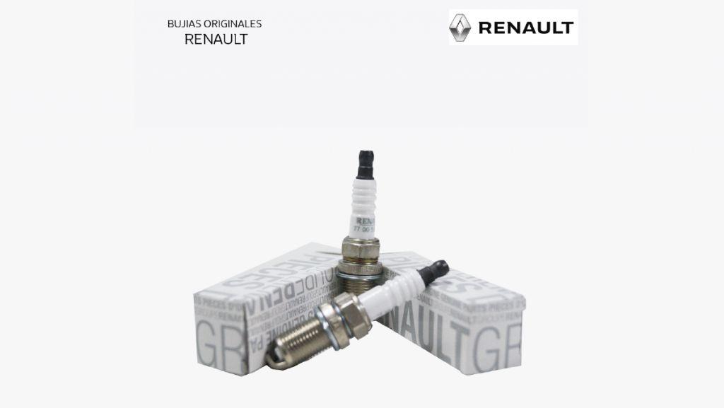 Repuesto original Renault Bujías