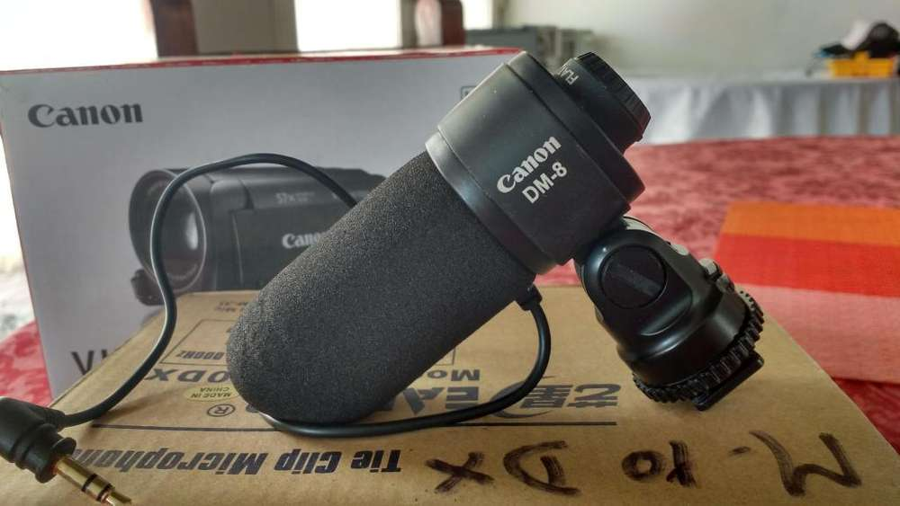 Vendo Micrófono para cámara fotográfica Canon