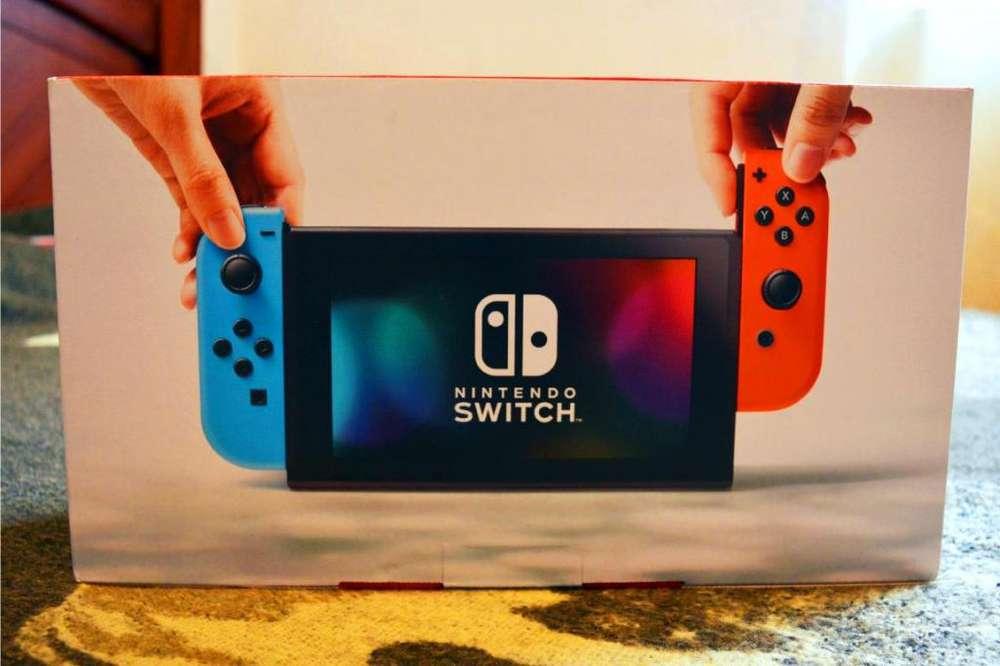 Nintendo Switch Neon Rojo/Azul NUEVO