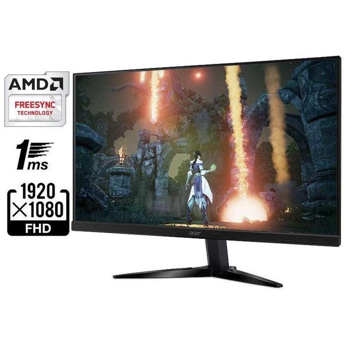 Monitor Gamer Acer Kg271 27pulgadas 75hz 1m Respuesta