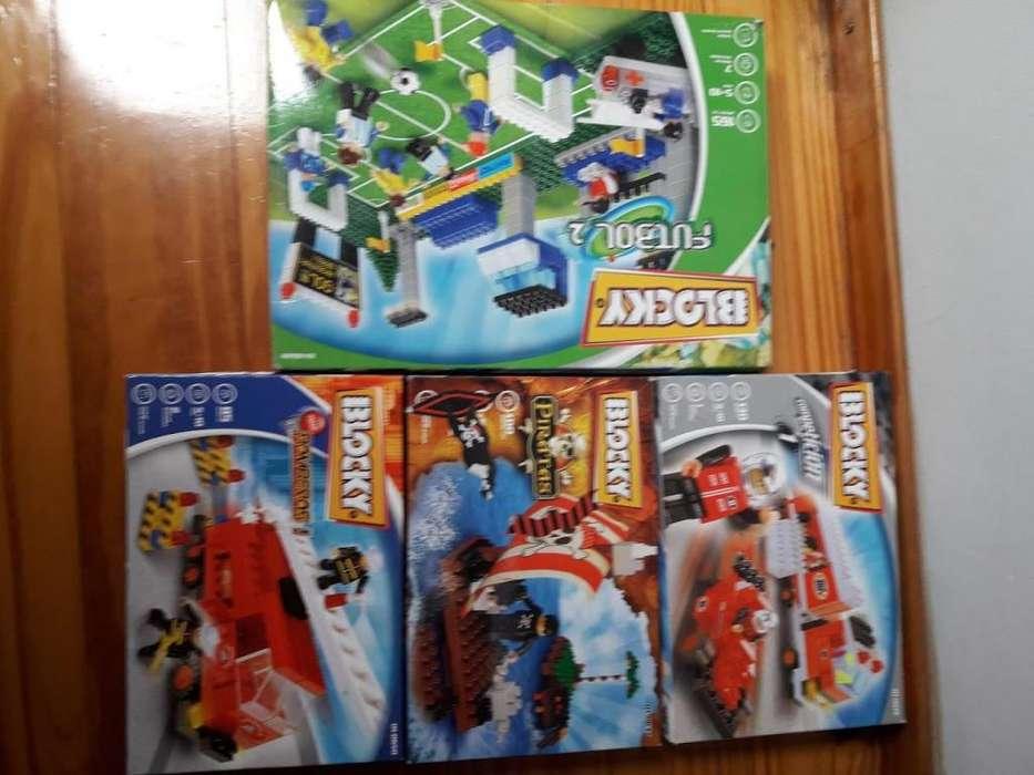 Blocky Set Juegos De Encastre