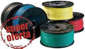 1650 Por 3 Rollos Cable unipolar / Suterraneos / Taller / Materiales Electricos / Envios La Plata S/C