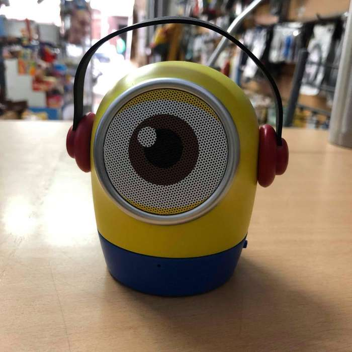 Parlante Portatil Bluetooth Minion Mtk Radio Fm Speaker