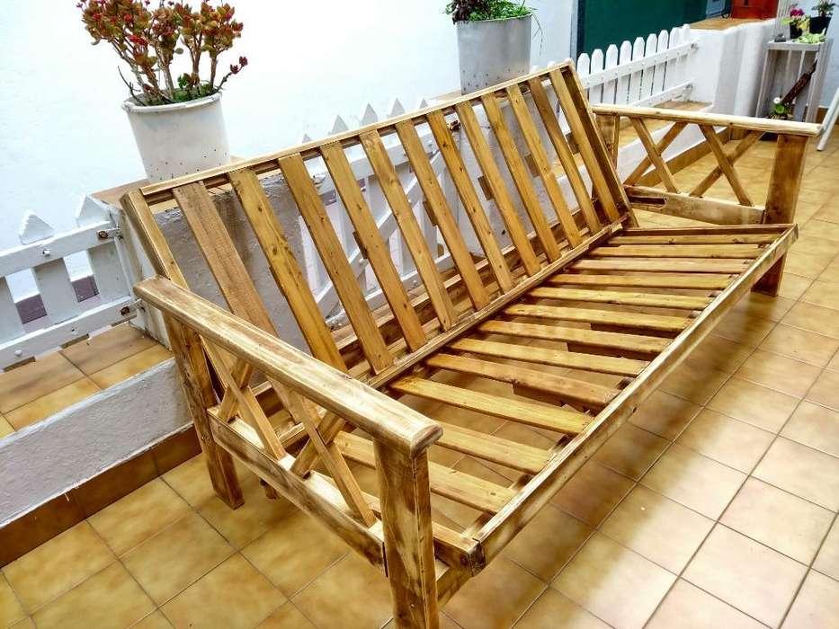 <strong>futon</strong> 3 Cuerpos sin Colchon