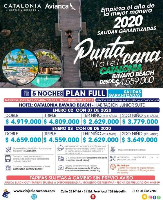 Viaje como un Rey a Punta Cana H. CATALONIA BAVARO BEACH 2020 con Viajes la Corona