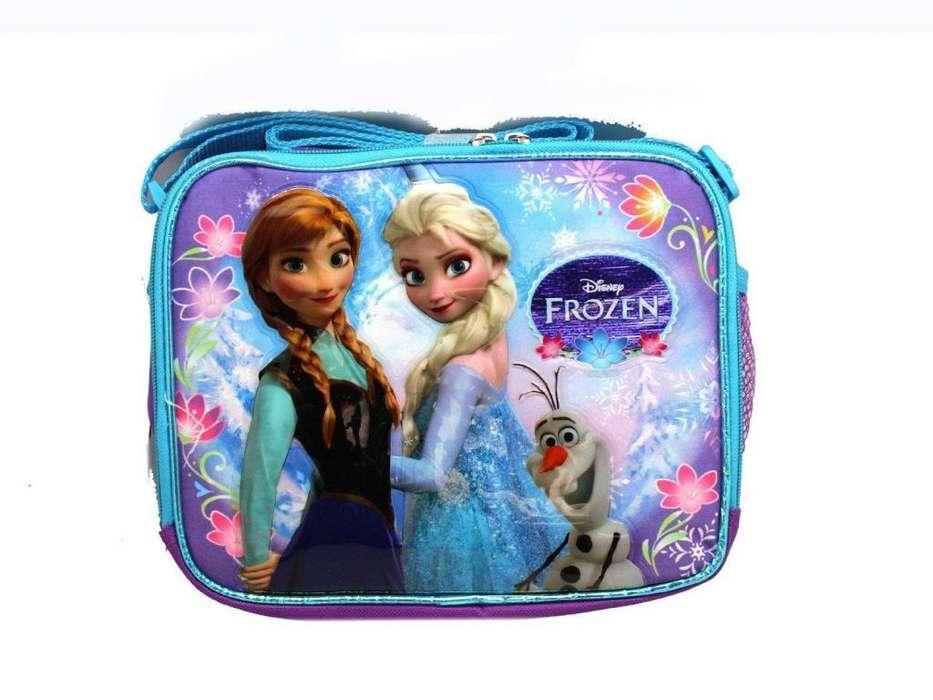 Lonchera Frozen Ana Elsa Disney Colegio Escolar Envío Gratis