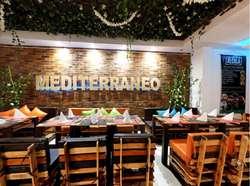 Se Vende Prestigioso Restaurante de Comida Mediterránea y Española