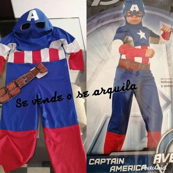 Disfraz Del Capitan America